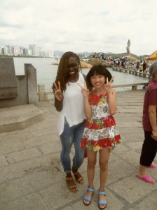 Black in China, Chinese, Tourists