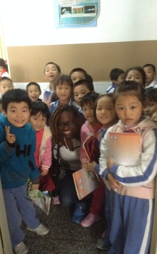 Christmas, teaching, China, Primary,