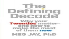 books, book, book review, meg jay, defining decade, twenties