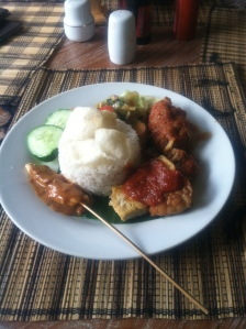 Kopi Desa, Ubud, Bali, Indonesia, Food, Nasi Campur, Veggies, Travel, Blog, Things to Do, Top, Favorite