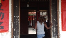 Meizhou, Hakka, China, Guandong, South, Language, Culture, Ancient, Mountain Wife, Child Bride, Travel, Blog, Black, Blogger, Museum, Tourist, Learn, Get-Away, Round House, Roundhouse, Earthen, China, Chinese