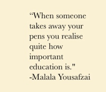 Malala, Yousafzai, Quotes, Books, Book, Quotes, Review, Summary, Nobel Peace Prize, Education, Girls, Women, Feminist, Power, Learn, Blog, Blogger, Black, Pakistan, Minority