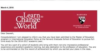 Harvard, acceptance, Masters, education, program, blog, black, blogger, travel