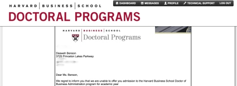 Harvard, Graduate, School, Rejection, Letter, Lesson, Lessons, Learned, Help, Travel, Black, Blogger
